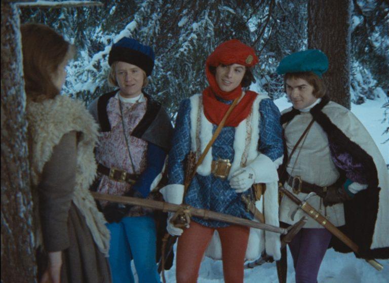 Národní filmový archiv vydává publikaci o filmu Tři oříšky pro Popelku