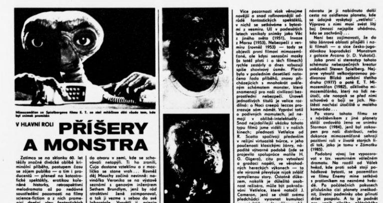 Podivuhodný alchymista s obchodním duchem – Steven Spielberg v československém tisku