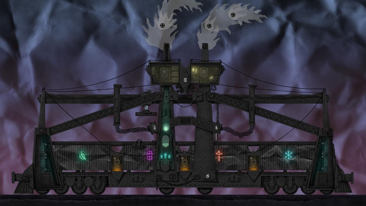 Dark Train: Kovový kolos z papíru