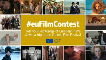 Soutěž #euFilmContest o cestu do Cannes