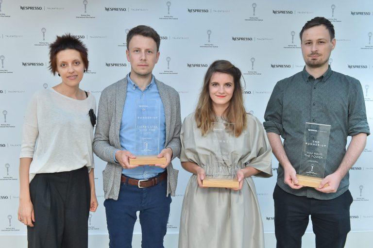 Vítězové soutěže vertikálních filmů Nespresso Talents 2017