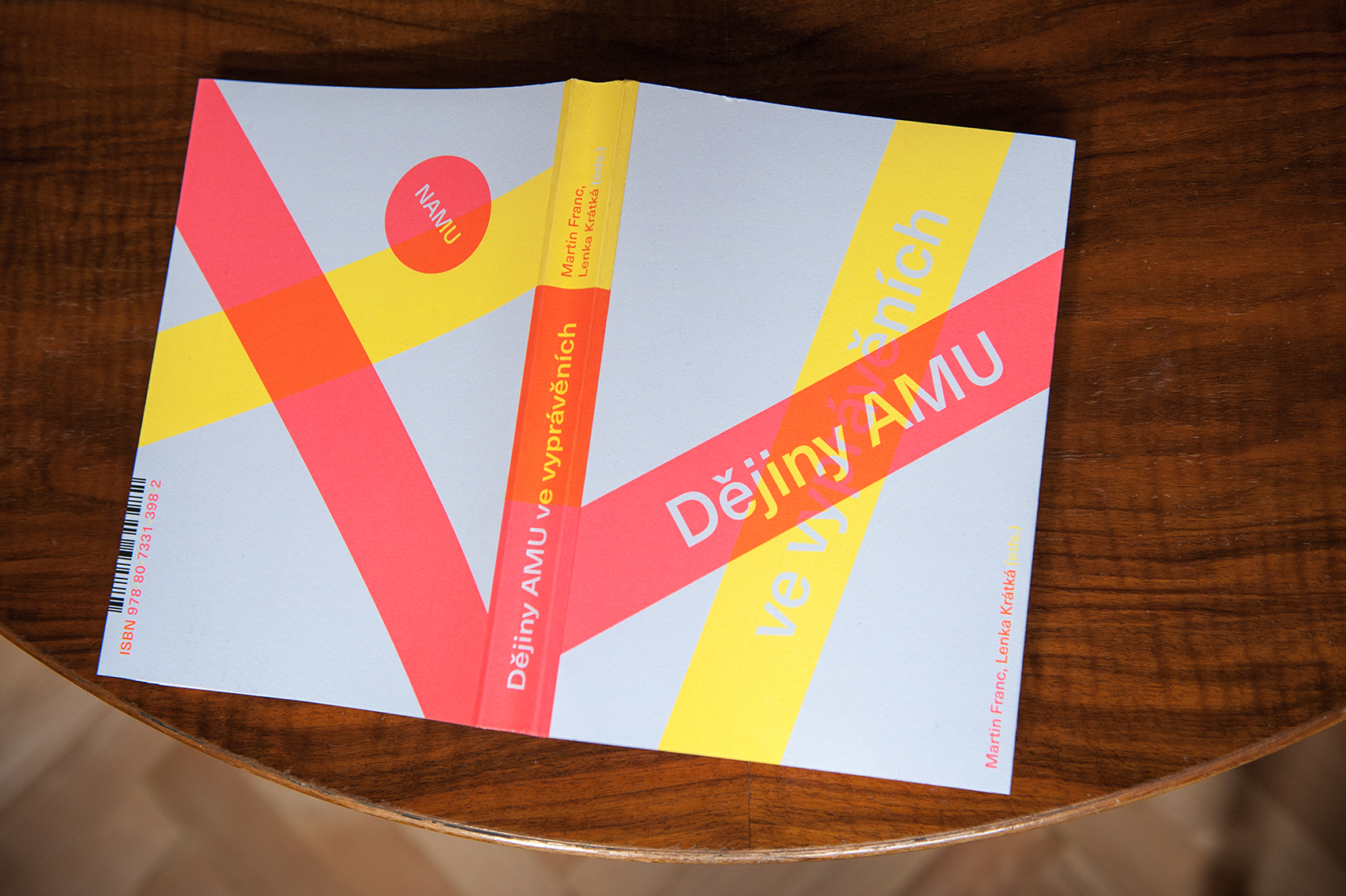 Kniha Dějiny AMU ve vyprávěních