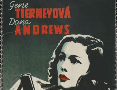 Výstava Český filmový plakát 1931–1948