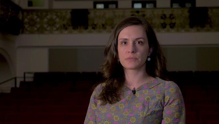 Video: Marie Barešová o filmu Bílá tma