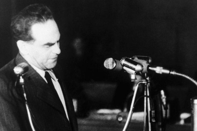 Objev filmových materiálů z procesu s Rudolfem Slánským