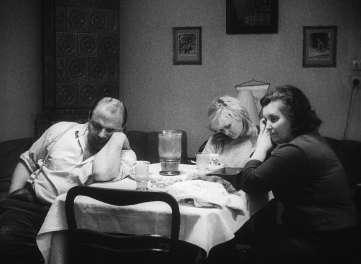 Scéna s Mílovými rodiči (Josef Šebánek a Milada Ježková)