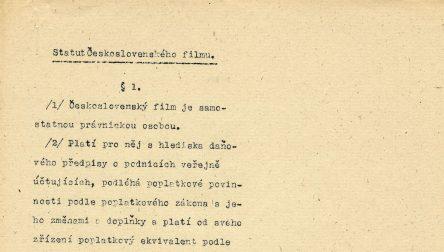 Československá filmová společnost II (1920) 1945–1948